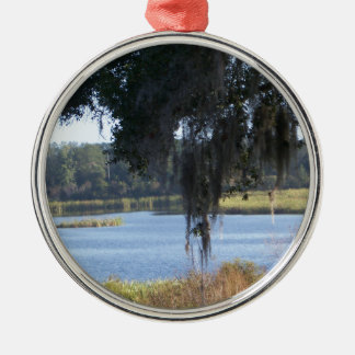 Summer südliche Seereflexionen Silbernes Ornament