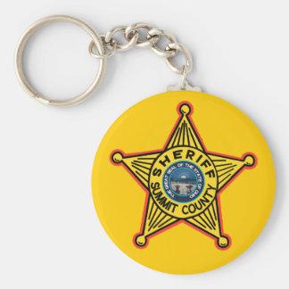 Summit County Ohio Sheriff Keychain. Schlüsselanhänger
