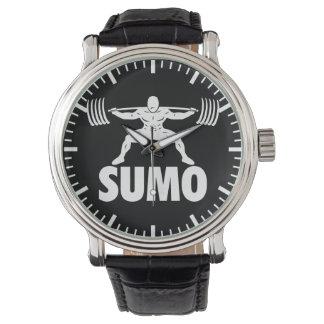 SUMO-HOCKE - Powerlifting motivierend Armbanduhr
