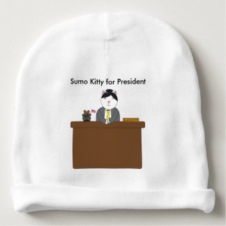 Sumo-Miezekatze für Präsidenten Babymütze