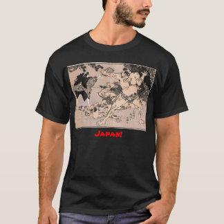 Sumo-Ringkämpfer, circa 1800's. Japan T-Shirt