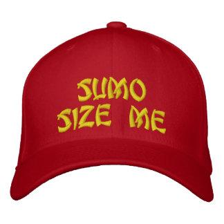 Sumo sortieren mich stickte Hut