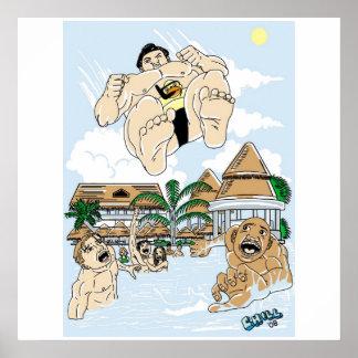 Sumo-Sturzbomber Poster