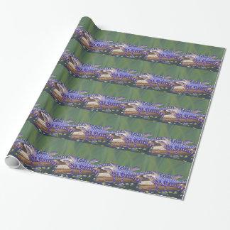 Sumpf-Baby-Alligatoren Geschenkpapier