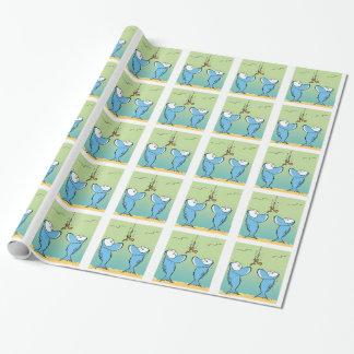 Sumpf-Fisch-Köder-Cartoon-Verpackungs-Papier Geschenkpapier