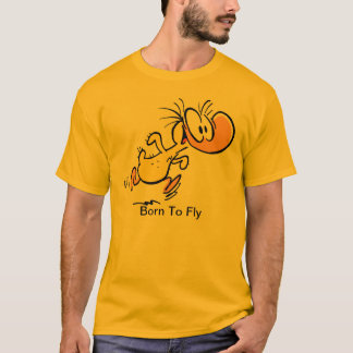 Sumpf-Fliegen-Entlein-Cartoon-Shirt T-Shirt