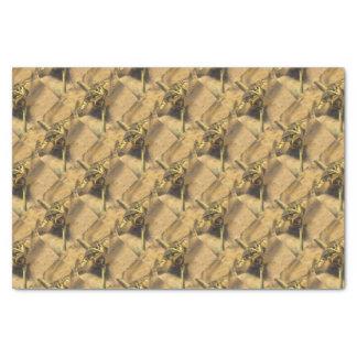 Sumpf-Frosch Seidenpapier