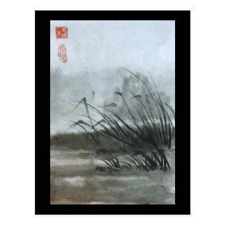 Sumpf-Postkarte Postkarten