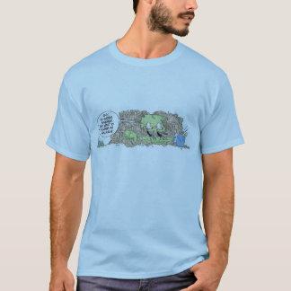Sumpf-Ratten-Cartoon-T - Shirt