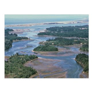 Sumpfgebiet, Südslough gurrt Bucht ODER Postkarte