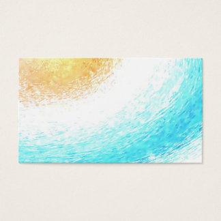 Sun-Aquarell-psychische Yoga Reiki Visitenkarten