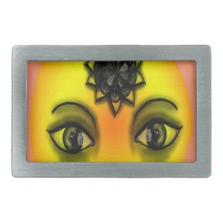 Sun-Augen Rechteckige Gürtelschnalle