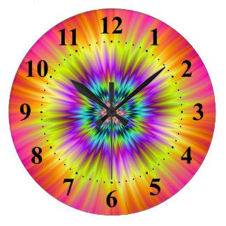 Sun-Blumen-Wand-Uhr Große Wanduhr