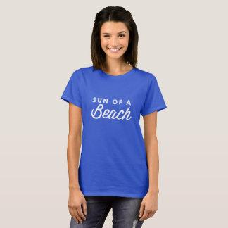 Sun eines Strandes T-Shirt