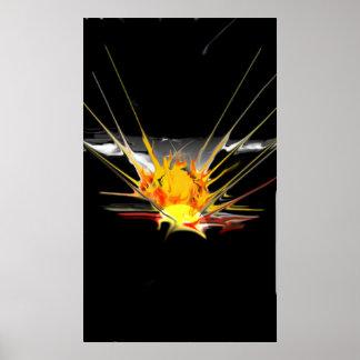 Sun-Explosion Poster