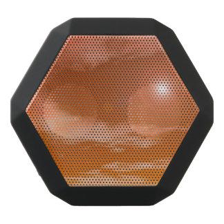 Sun im orange Sonnenunterganghimmelhintergrund - Schwarze Bluetooth Lautsprecher