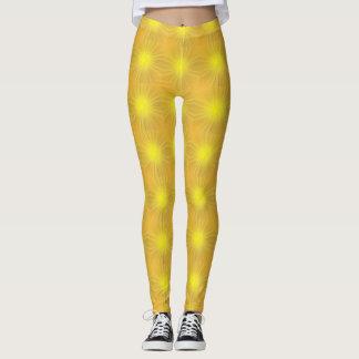 Sun-Licht glühende gelbe Gamaschen Leggings