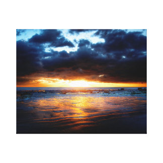 Sun, Meer u. Sand Leinwanddruck