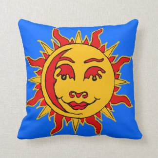 Sun-Motiv-Wurfs-Kissen Kissen