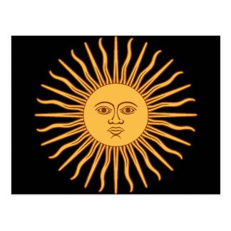 Sun Postkarte