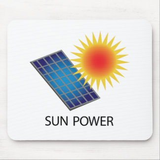 Sun-Power Mousepad