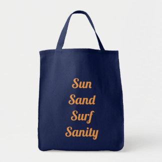 Sun-Sand-Brandungs-Vernunfts-Taschen-Tasche Tragetasche