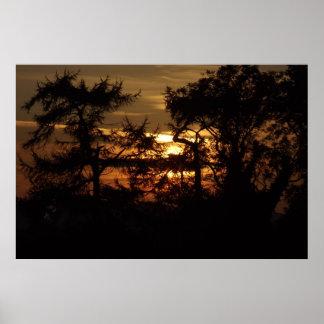 Sun-Set Posterdruck