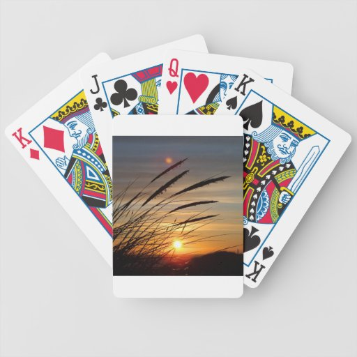 Sun-Set Poker Karten