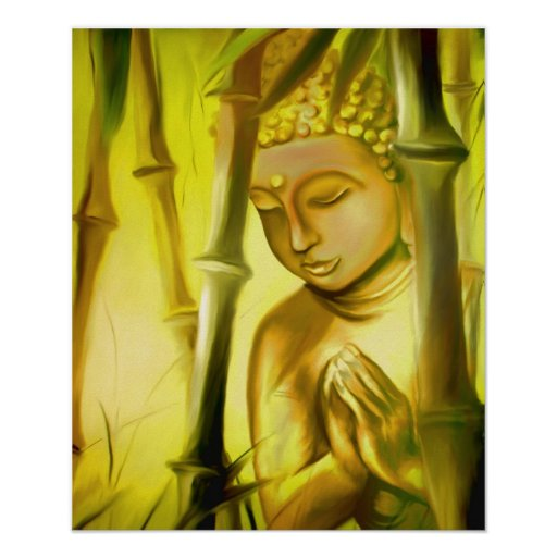 Sun solution-Buddha Posters