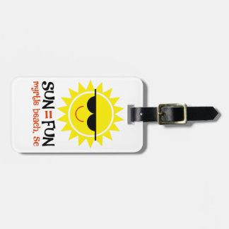 Sun = Spaß Kofferanhänger