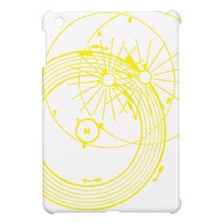 Sun und Mond-Bahn-Zetetic Astronomie iPad Mini Hülle
