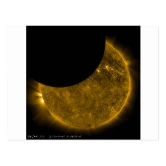 Sun und Mond Postkarte