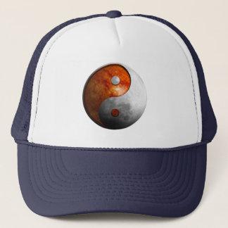 Sun und Mond Yin Yang Truckerkappe