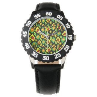 Sun und Paprikaschoten Armbanduhr
