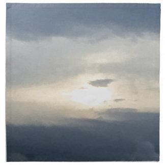 Sun und Wolken Stoffserviette
