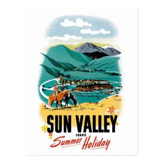 Sun- ValleySommerferien Postkarte