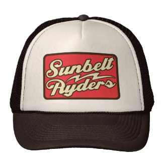 Sunbelt Ryders Retro Logo-Fernlastfahrer-Hut Retromütze