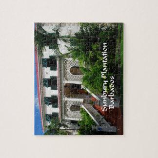 Sunbury-Plantage in Barbados Puzzle