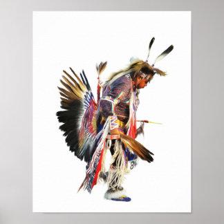 Sundancer - Kunst-Plakat des Ureinwohner-11x14 Poster