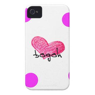 Sundanese-Sprache des Liebe-Entwurfs iPhone 4 Hülle