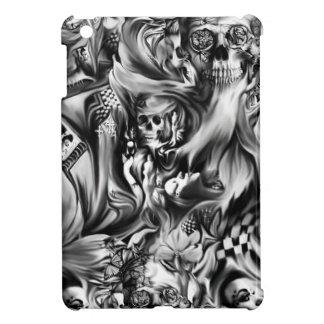 Sünde und schmelzende Schädel des Rauches iPad Mini Hülle