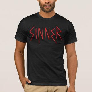 SÜNDER grafisches T-Stück (ROT) T-Shirt