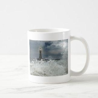 Sunderland - Roker Pier u. Leuchtturm Kaffeetasse