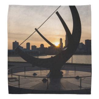 Sundial-Sonnenuntergang Kopftuch