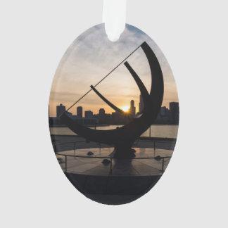 Sundial-Sonnenuntergang Ornament