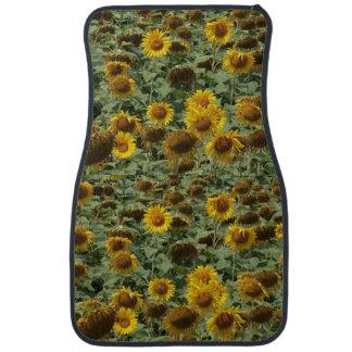 Sunflower Autofußmatte