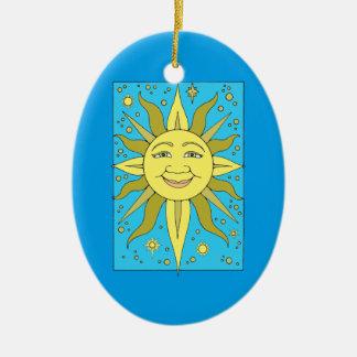 Sunhine 4 keramik ornament
