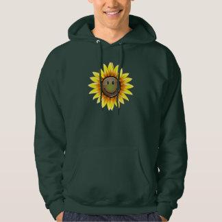 Sunkissed lächelnde Sonnenblume Hoodie