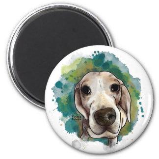 Sunny the Beagle Runder Magnet 5,1 Cm