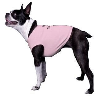 Suns heraus Zunge heraus für Hunde Ärmelfreies Hunde-Shirt